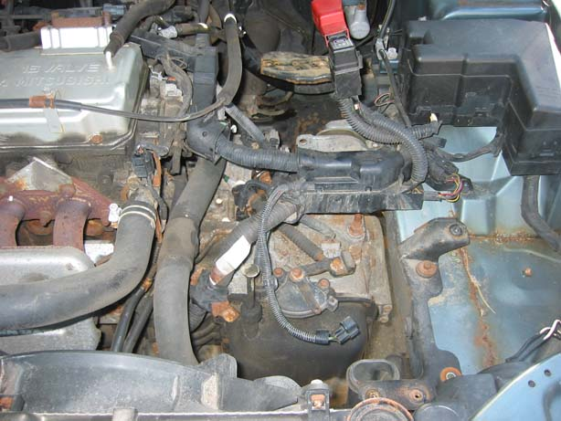 galanttransmissionswap16 hate your automatic transmission? swap it to a manual! 1a auto blog 2000 mitsubishi eclipse engine wiring harness at bayanpartner.co