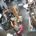 Install the clutch pedal assembly