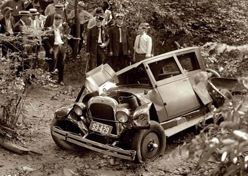 People Who Buy Junk Cars >> Car Crash: Car Crashes 1920s