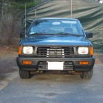 The newer 1993+ grille and bumper
