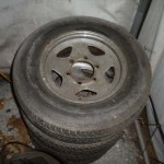 "Stock 1989 Dodge Ram 50 14"" Wheels"