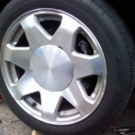 "Older Cadillac Escalade 17"" Wheels"