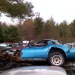 Junkyard Corvette