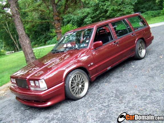 Volvette Twin Turbo Ls1 In A Volvo Wagon 1a Auto Blog
