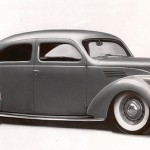 1936 Lincoln Zephyr 2 Door Sedan