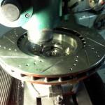 Front CTSV Rotor Boring