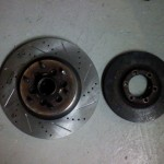 New vs old Front Rotors