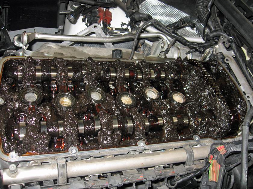 Image Result For Toyota Engine Oil Sludge