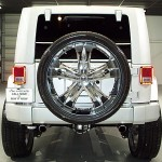 Jeep Wrangler on 28's Spare Tire
