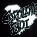 """Carolina Boi"" is stitched into the headrests!"