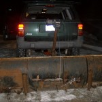 Trailer Hitch Plow