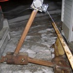 Trailer Hitch Plow Winch