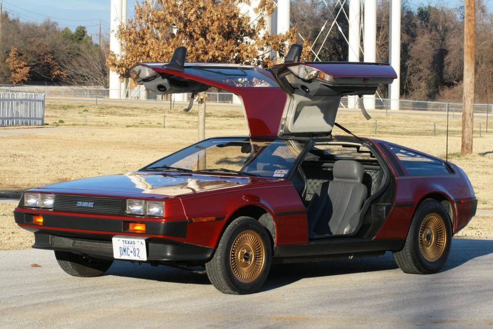 You Want To See The Candy Apple Red Delorean 1a Auto Blog