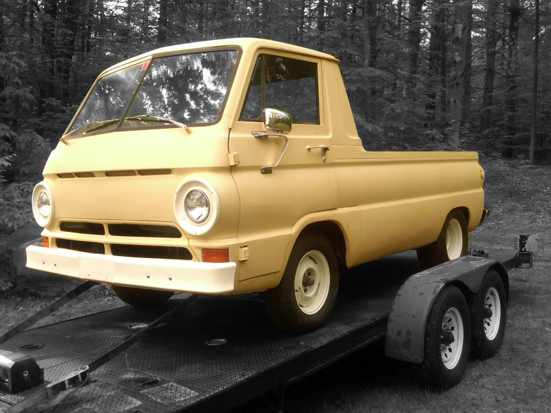 Wait are those slicks under your dodge a 100 1a auto blog hiding underneath the passenger compartment of this dodge a 100 pickup was a large v8 i was being rushed a bit so i didnt identify which engine it was publicscrutiny Images