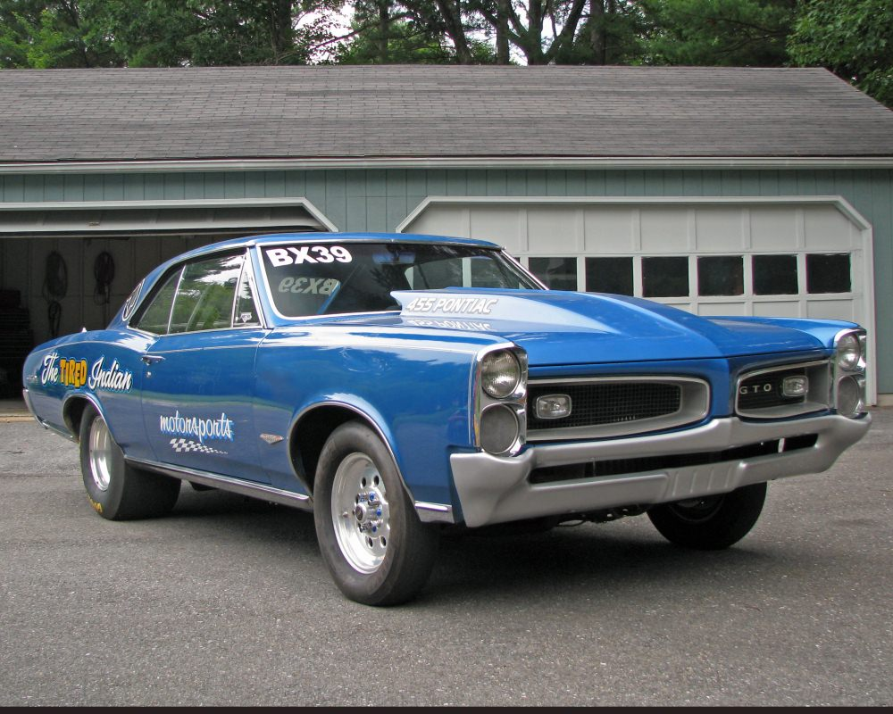 Pictures drag racing, GTO,