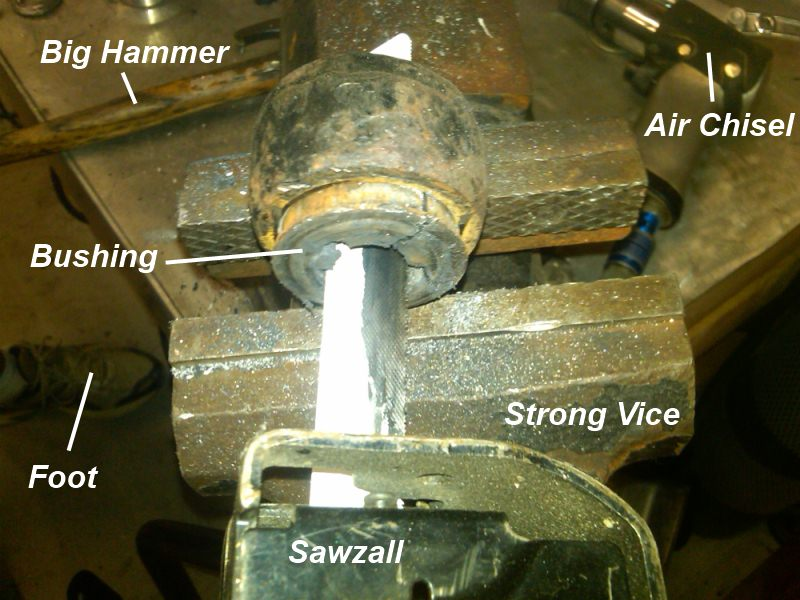 Control Arm Bushing Replacement Cost >> How Not To Replace Control Arm Bushings 101 1a Auto Blog
