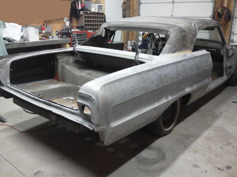 1964 Impala Convertible Project Part 6 1a Auto Blog