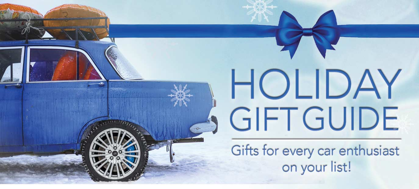 2018 Holiday Gift Guide: Gifts for Every Car Enthusiast