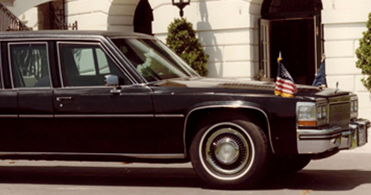 Presidents Ronald Reagan and Bill Clinton rode in Cadillac Fleetwoods.