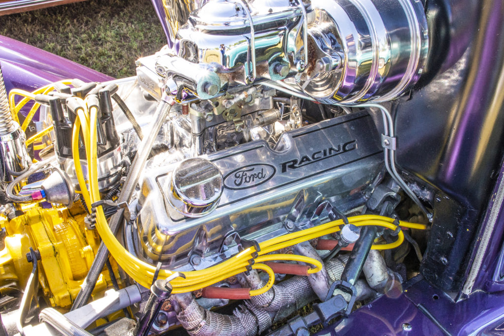 1A Auto Charity Car Show | Ford Racing Engine