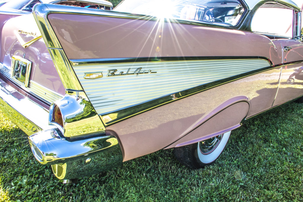 2019 1A Auto Charity Car Show - Pink Chevrolet Bel Air