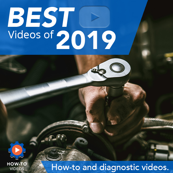 In this blog post, we share our picks for 1A Auto's best how-to & diagnostic videos of 2019.
