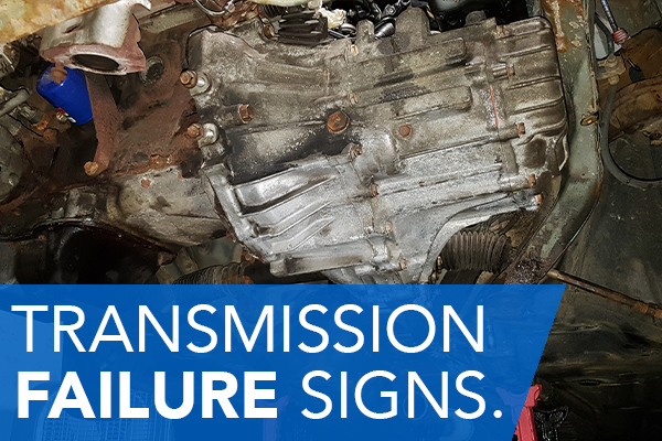 Learn the signs and symptoms of transmission failure and how to keep yours running optimally.  Pictured: An original manual transmission in a 1996 Toyota Corolla.