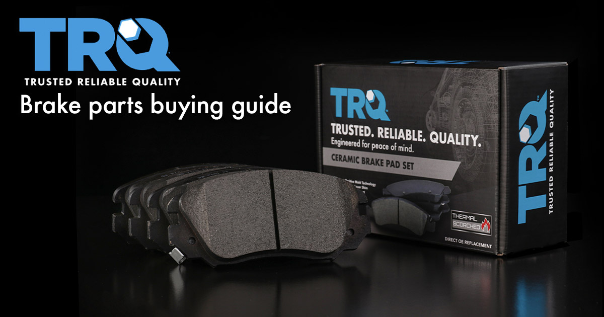 1A Auto is now offering TRQ brake parts, like this ceramic brake pad set.  Read our TRQ brake parts buying guide to find out why you should replace or upgrade your brakes with parts from TRQ.