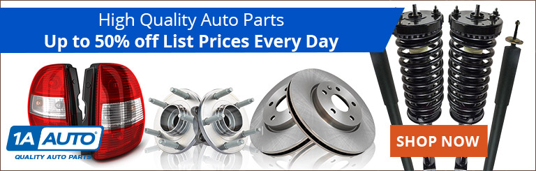Save up to 50% off list prices on the quality parts you need every day when you shop 1aauto.com.