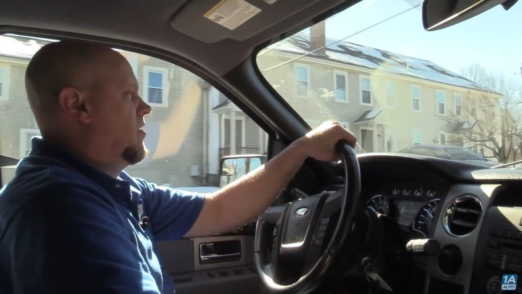 Take the vehicle for a test drive. Pay attention to see if you still have rear end noise.
