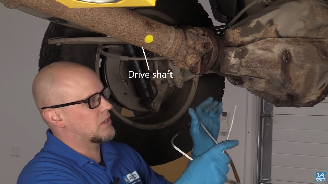 If you have rear end noise put the vehicle on a lift to diagnose