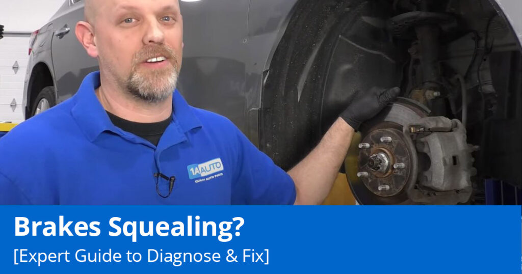 Brakes Squealing? Here is our expert guide to diagnose & fix