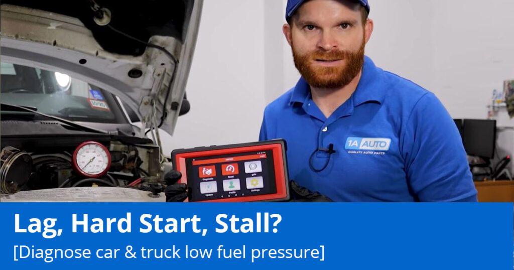 Why Your Car Struggles to Start [Low Fuel Pressure]