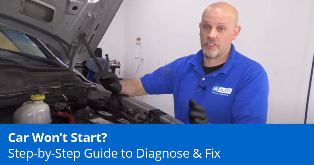 Reasons A Car Won't Start | Step-by-Step Guide to Diagnose & Fix