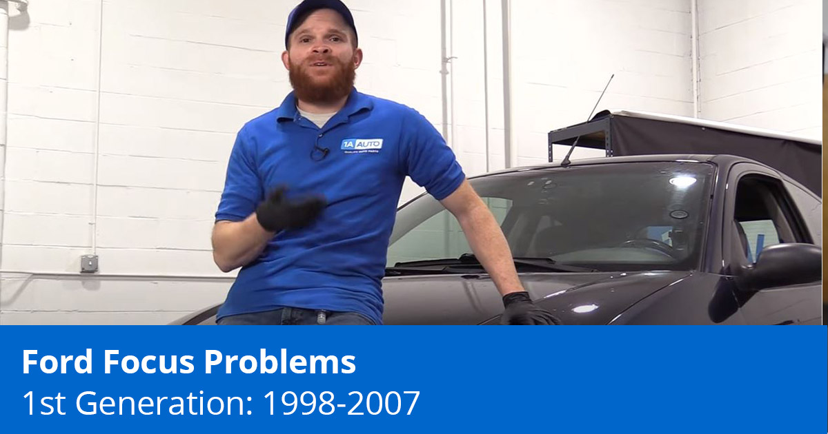 Common Problems on the 1st Gen 98-07 Ford Focus