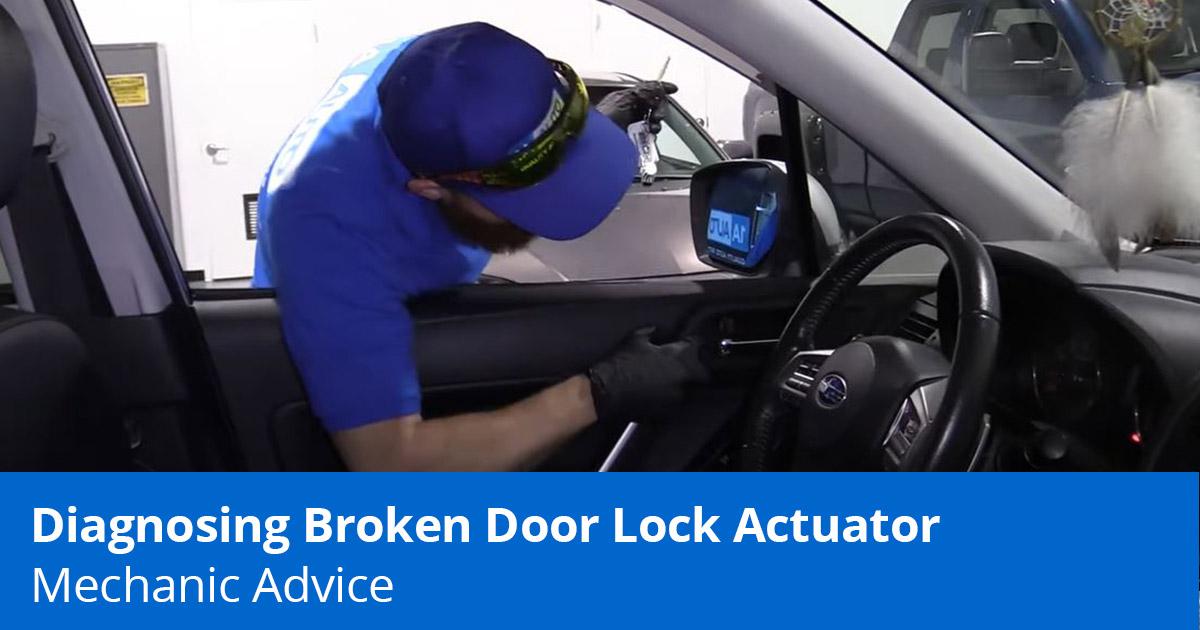 Mechanic testing wy Car Door Locks stucks