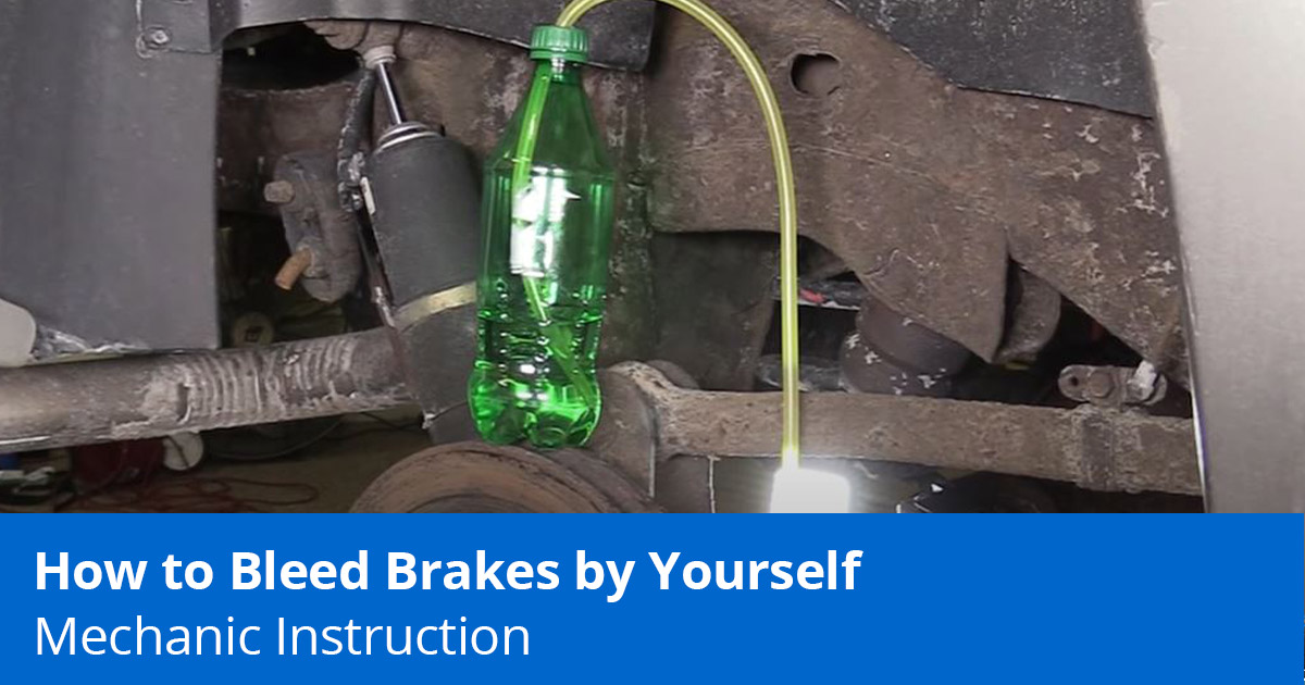 How to Bleed Brakes by Yourself | Step-by-Step Guide