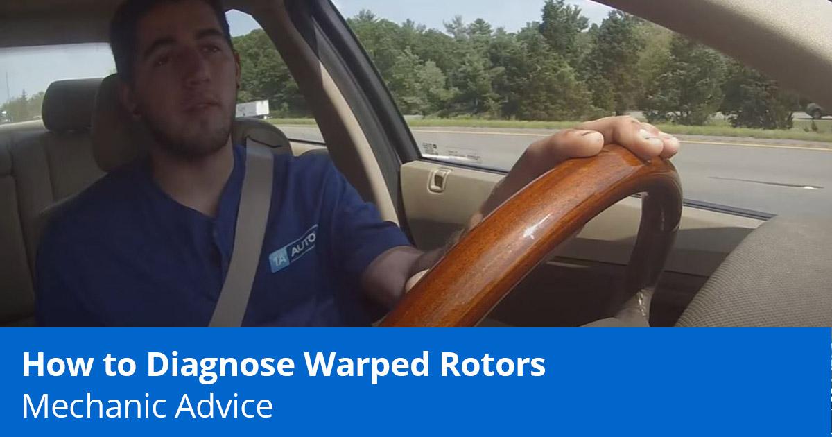 Car Shakes When Braking   Mechanic Drives to Diagnose Bad Rotors