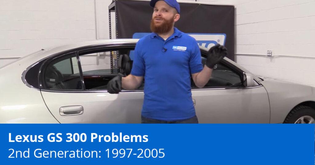 Mechanic explaining Lexus GS 300 problems