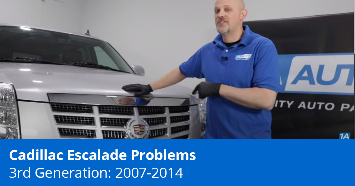 Mechanic Showing Cadillac Escalade Problems