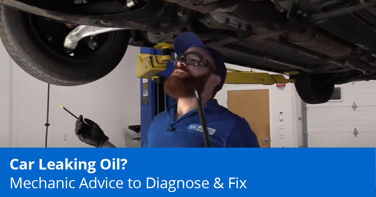 Car Leaking Oil