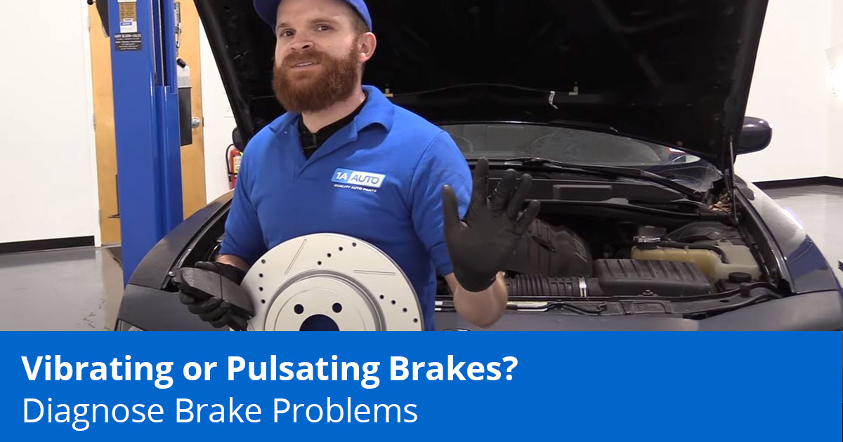 Pulsating Brakes When Coming to a Stop? Learn the Causes and Fixes