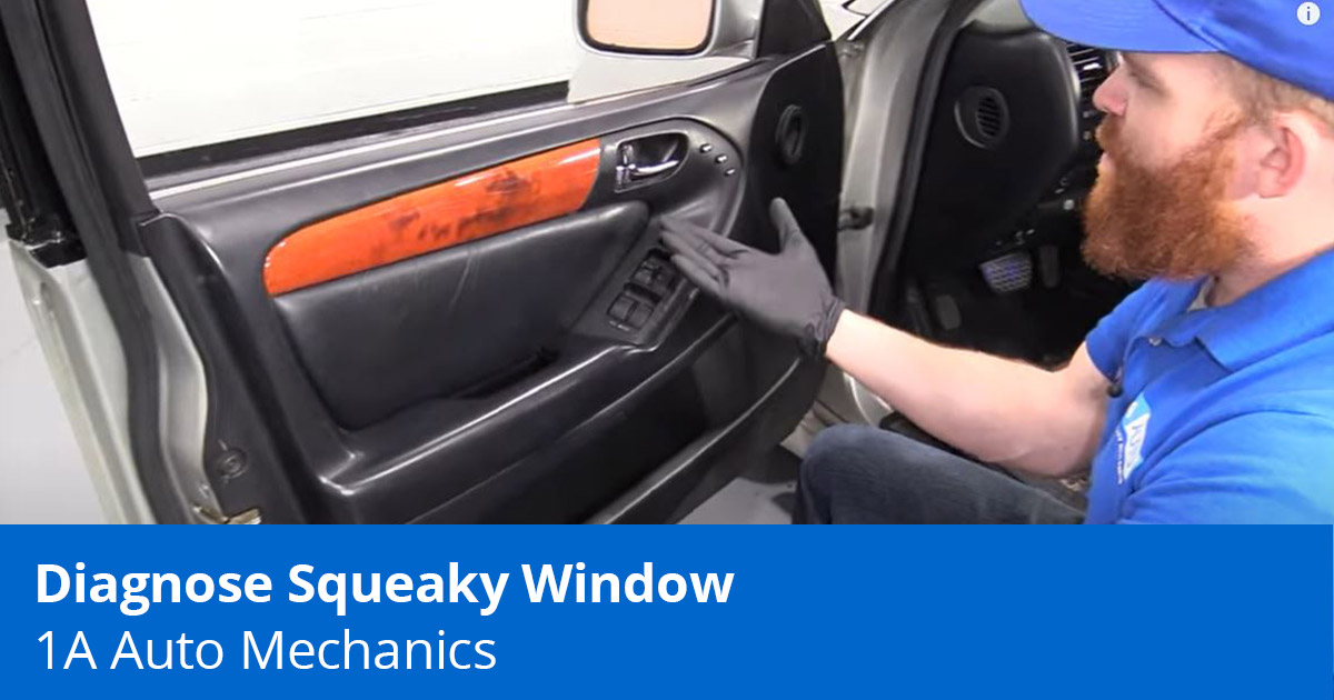 How to Diagnose and Fix A Squeaky Car Window Yourself   Expert Advice