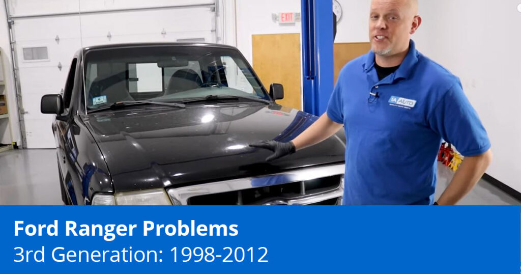 Mechanic diagnosing 1998 to 2012 Ford Ranger Problems