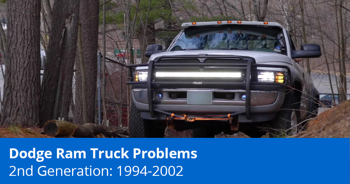 The 5 Most Common 2nd Gen Ram Problems 1994 2002
