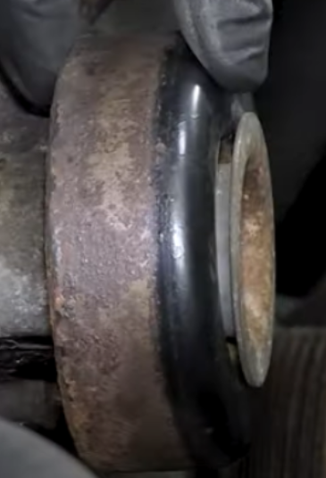 Testing a bad idler pulley that is excessively loose