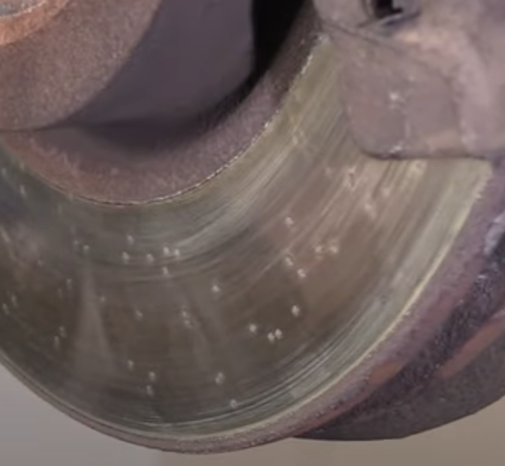 Rotors with pitting