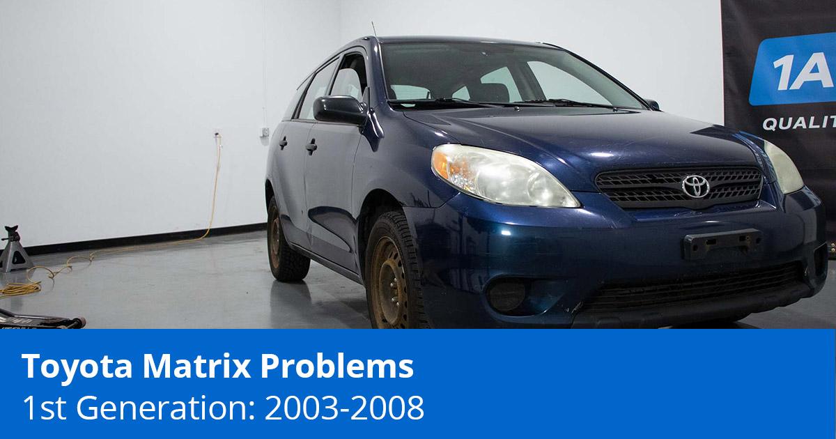 Toyota Matrix Problems