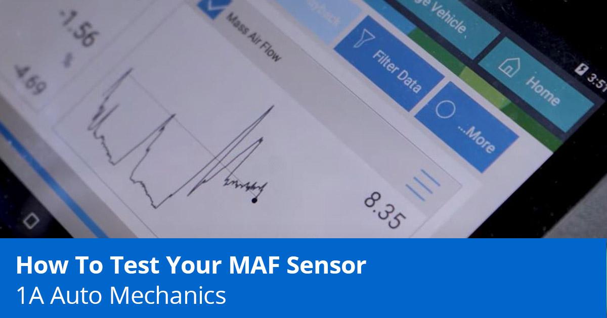 Test MAF Sensor
