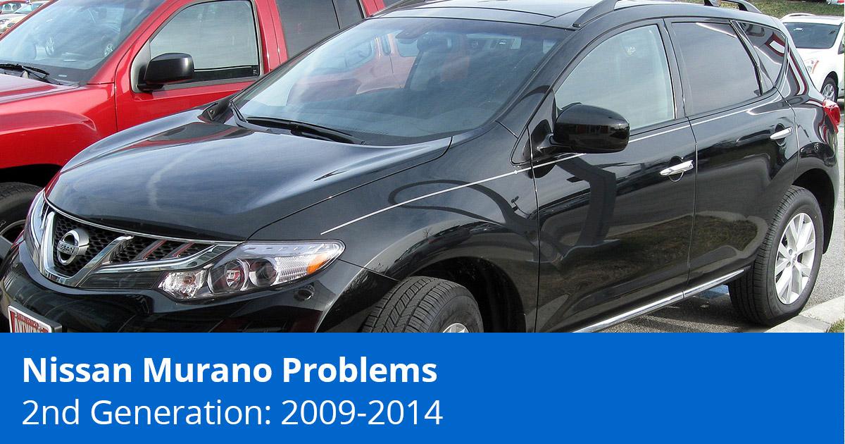 Nissan Murano Problems